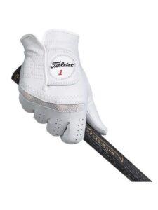 Titleist heren golfhandschoen PermaSoft leer wit RECHTERHAND