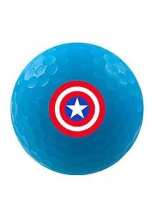 Volvik golfballen Marvel Captain America Blue