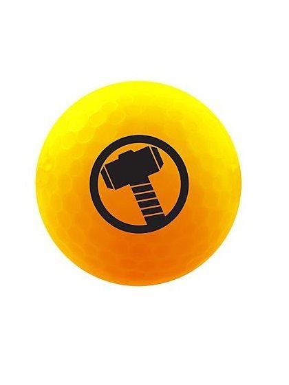 Volvik golfballen Marvel Thor Yellow