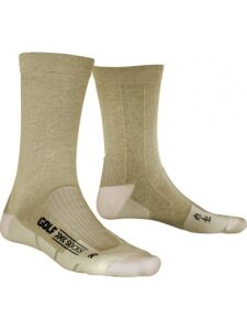 X-socks heren golfsokken Air Step Mid Calf beige