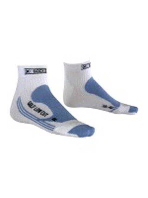 X-socks dames golfsokken Golf Lady wit-blue