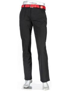 Alberto heren golfpantalon modern fit Pro 3xDry Cooler zwart