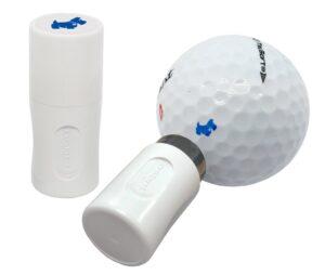 Asbri golfbalstempel Dog/Hond blauw