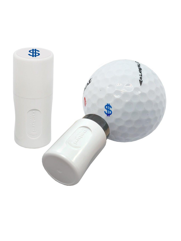 Asbri golfbalstempel Dollar blauw