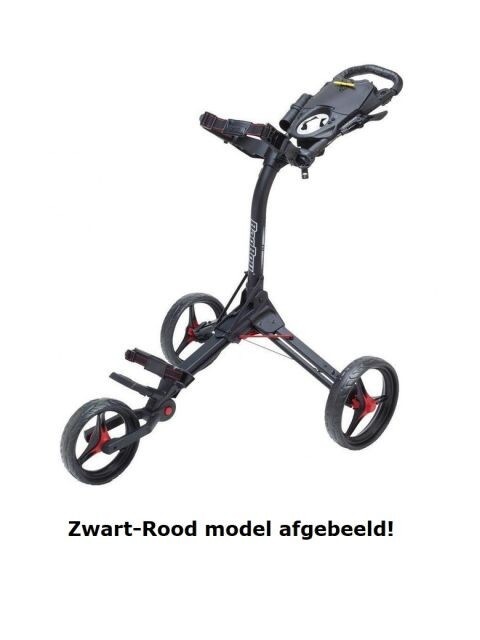 BagBoy golftrolley Compact 3 zwart