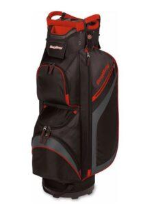 BagBoy golftas DG-Lite II Cart Bag zwart-grijs-rood