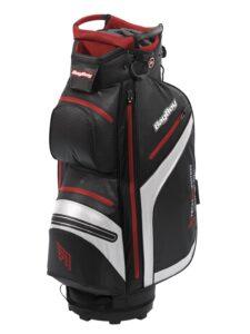 BagBoy golftas DG Lite DRI TL Cart Bag zwart-wit-rood
