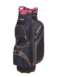 BagBoy golftas DG-Lite II Cart Bag navy-roze-zilver