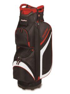BagBoy golftas DG-Lite II Cart Bag zwart-wit-rood