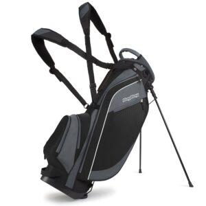 BagBoy golftas Super Lite Stand Bag zwart-grijs