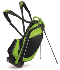 BagBoy golftas Super Lite Stand Bag zwart-lime