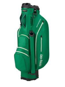 Bennington golftas Dry QO DB Cart Bag groen-zilver