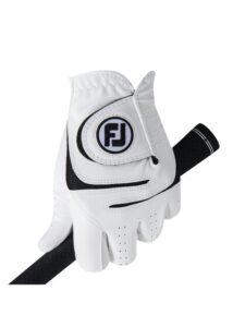 FootJoy heren golfhandschoen WeatherSof wit