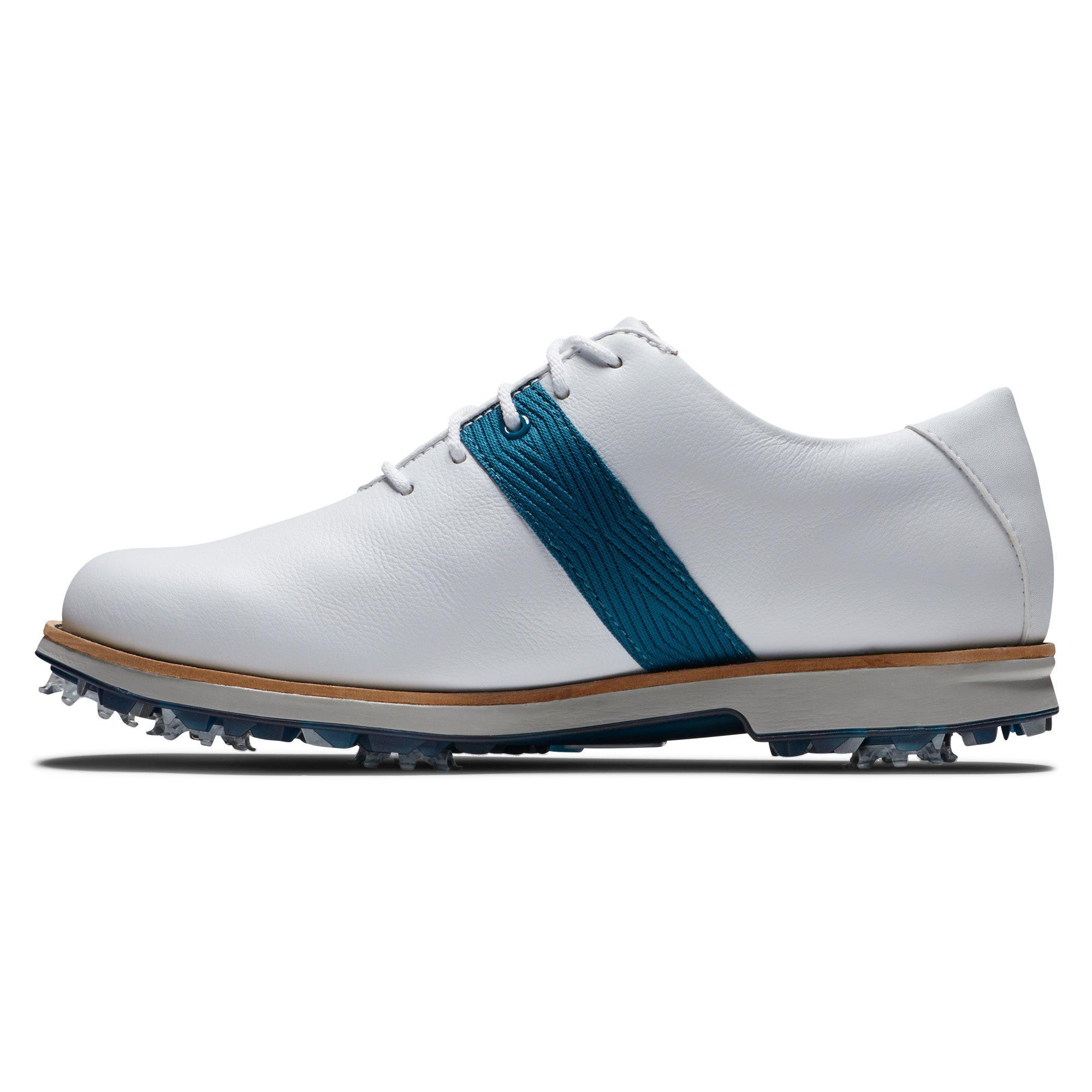 FootJoy dames golfschoenen Premiere Series wit-blauw