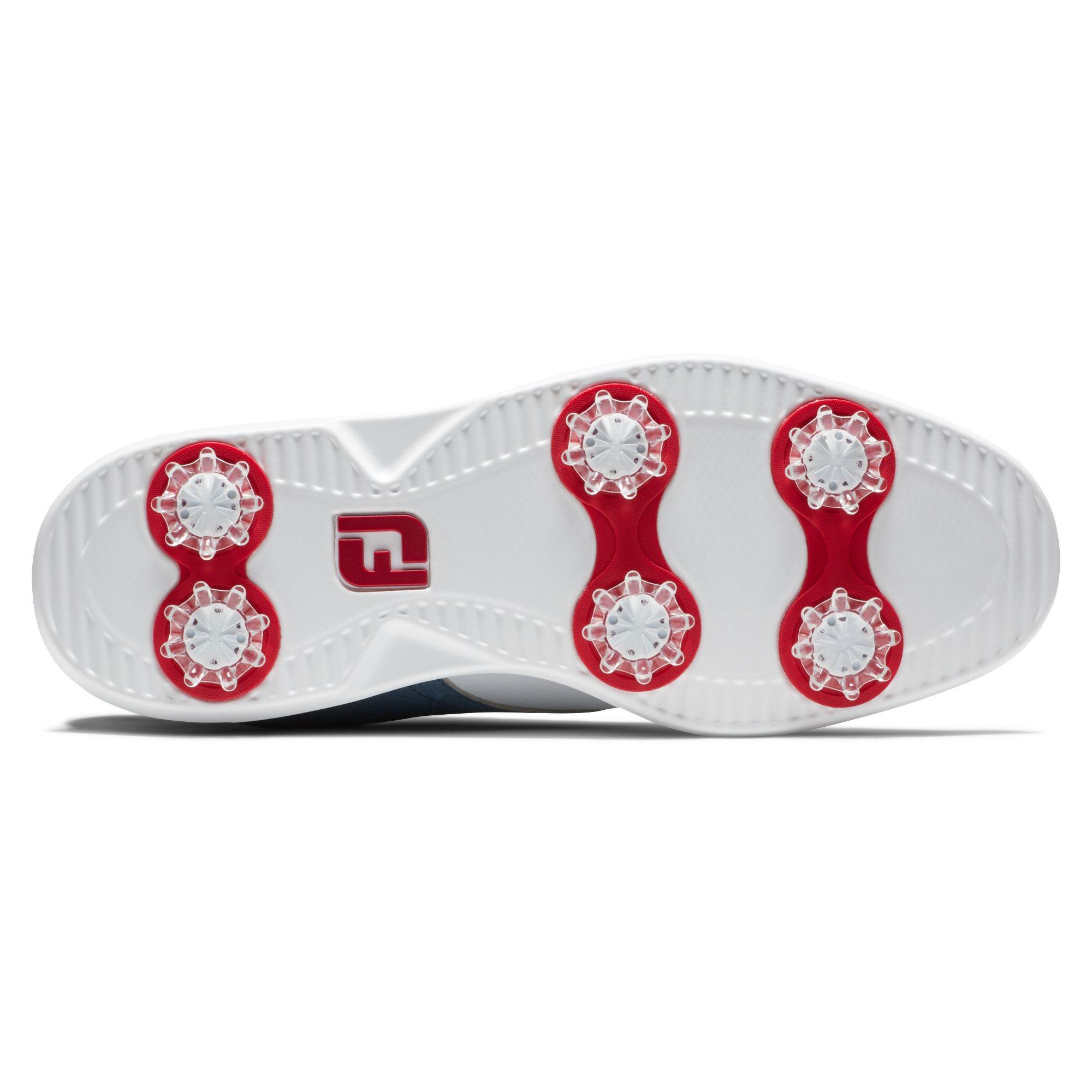 FootJoy dames golfschoenen Traditions wit-blauw