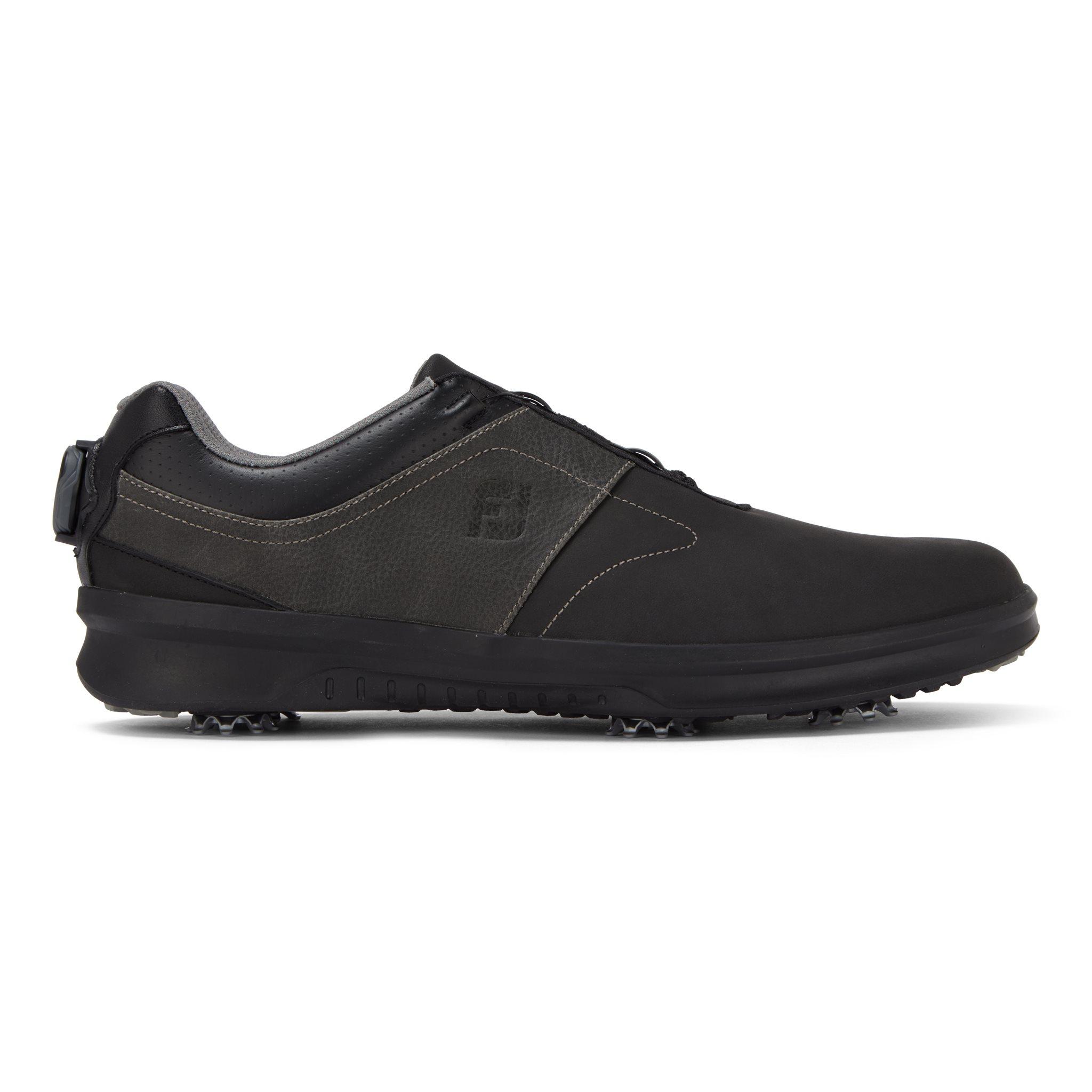 FootJoy heren golfschoenen Contour WIDE BOA zwart-grijs