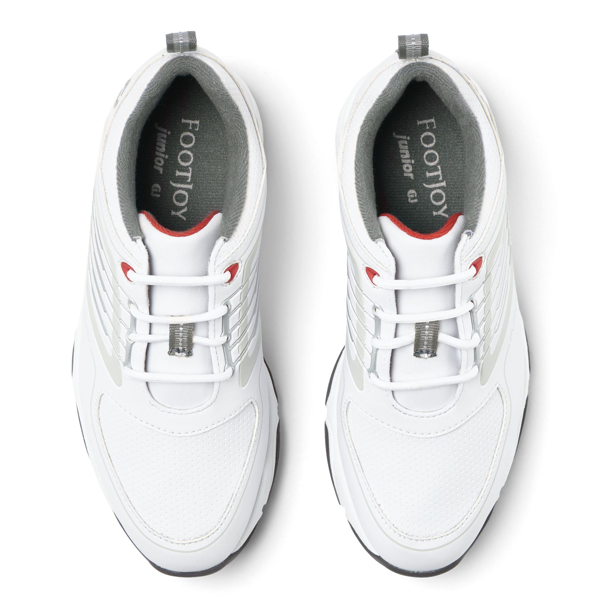 FootJoy junior golfschoenen Fury wit-zilver