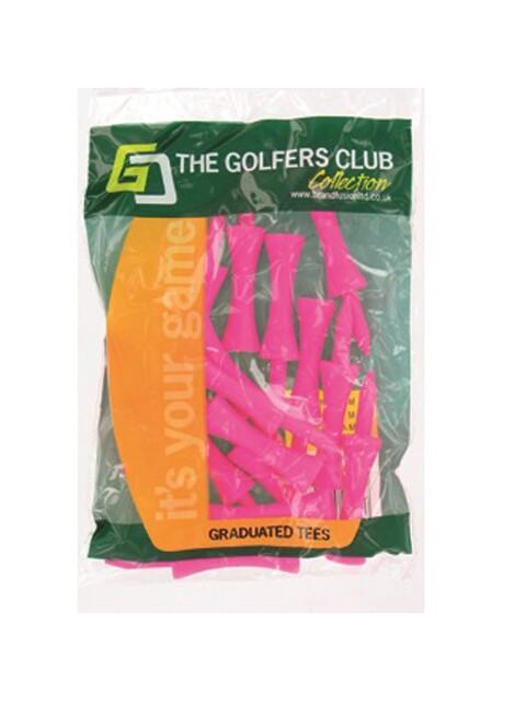 Golfers Club golftees Step Height tee 39mm pink