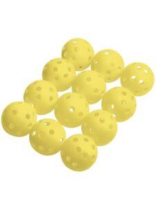 Silverline golfballen  Practice Air 12 stuks geel