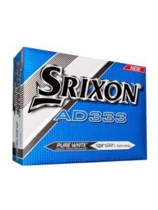 Srixon golfballen AD333 wit