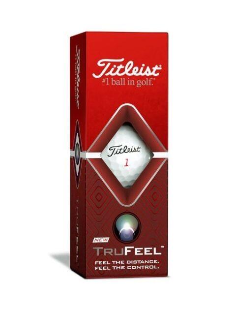 Titleist golfballen TruFeel wit