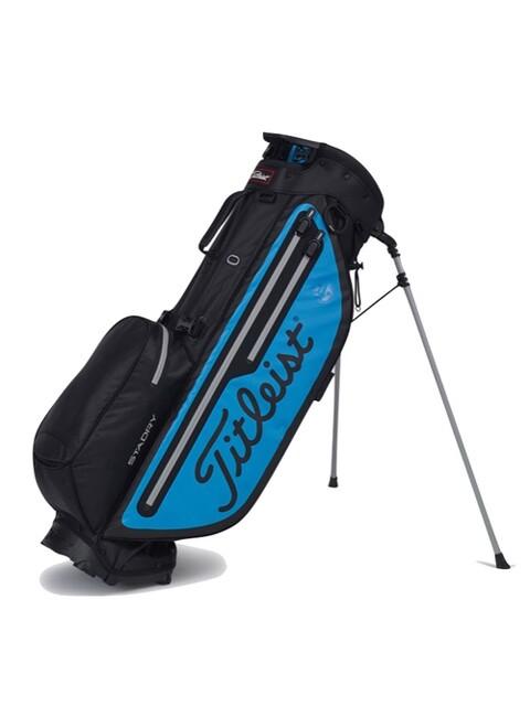 Titleist golftas Players 4+ Staydry Stand Bag blauw-zwart