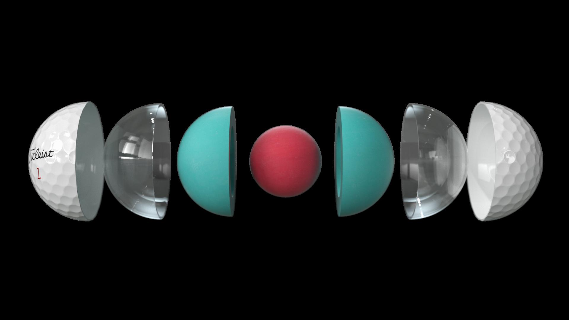 Titleist golfballen Pro V1x wit