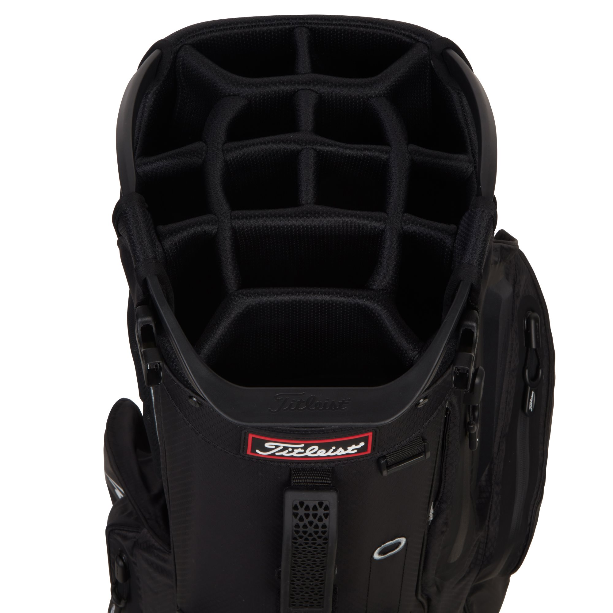 Titleist golftas Hybrid 14 Stand Bag zwart