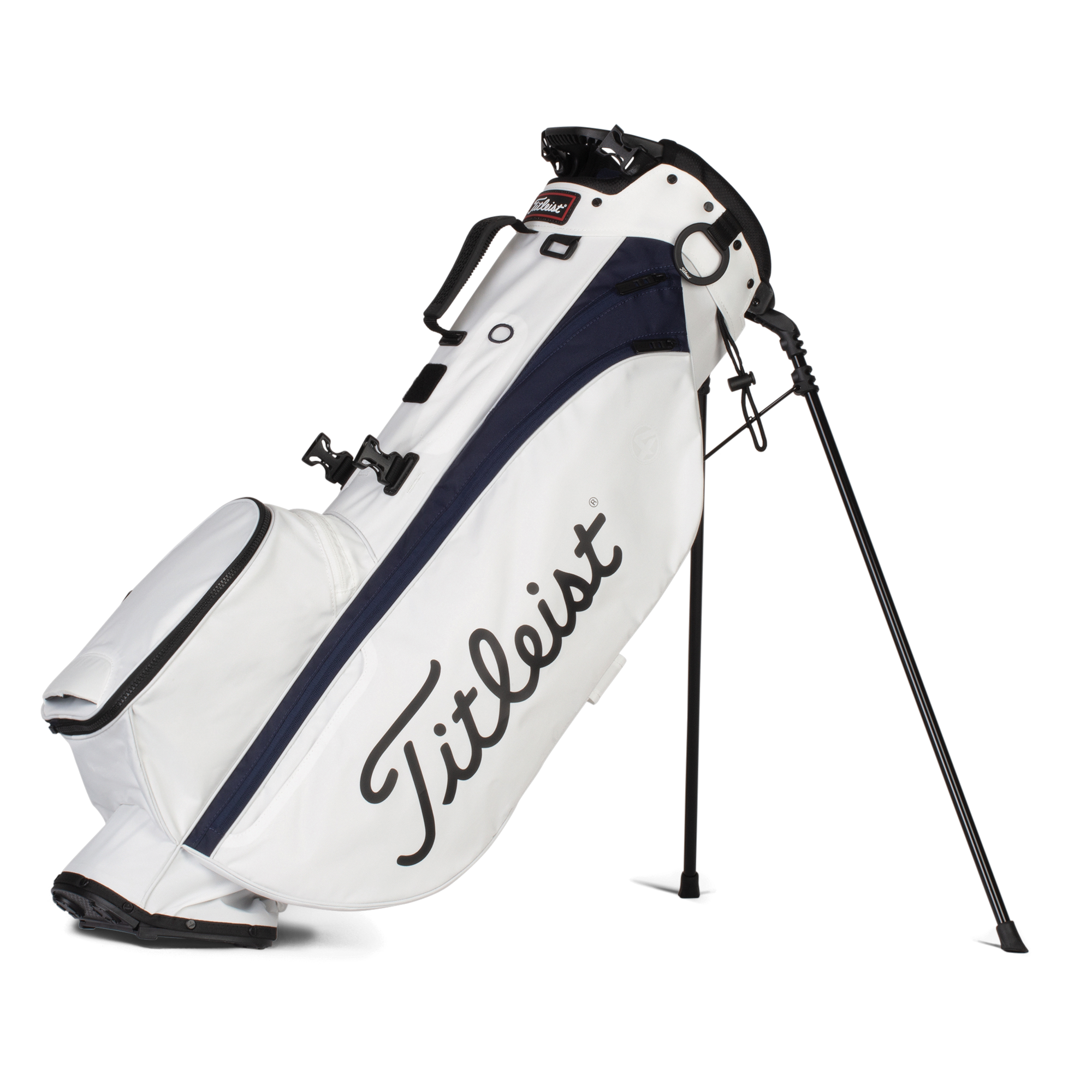 Titleist golftas Players 4 Stand Bag wit-blauw