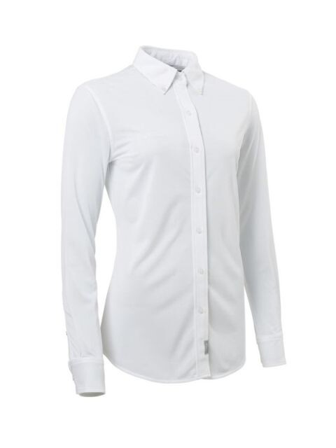 Abacus dames golfblouse Wade stretch wit