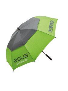 Big Max golfparaplu Aqua groen-grijs