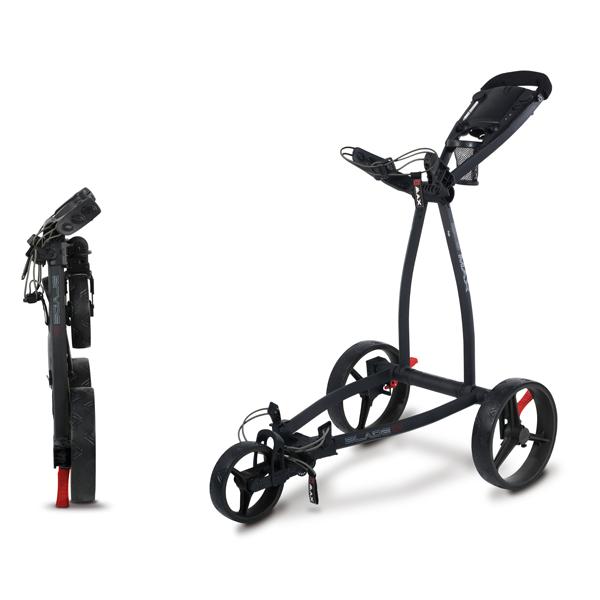 Big Max golftrolley Blade IP zwart
