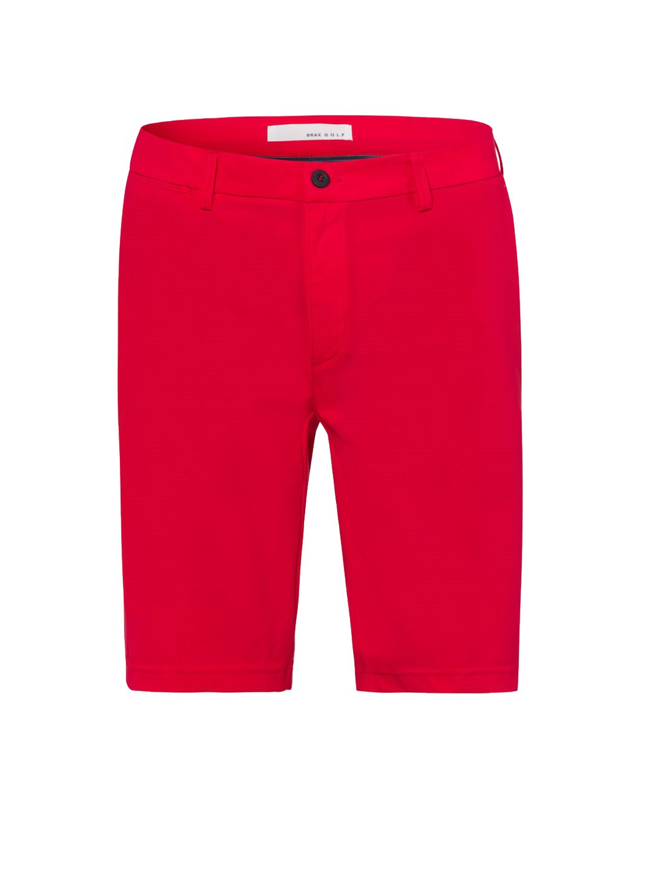 Brax heren golfbermuda Pro S rood