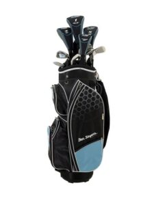 Ben Sayers dames golfset M8 Cart Bag graphite shaft