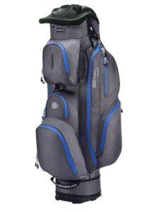 Bennington golftas QO 14 Lite Cart Bag grijs-blauw