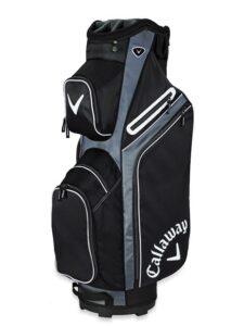 Callaway golftas X Series Cart Bag zwart-titanium-wit