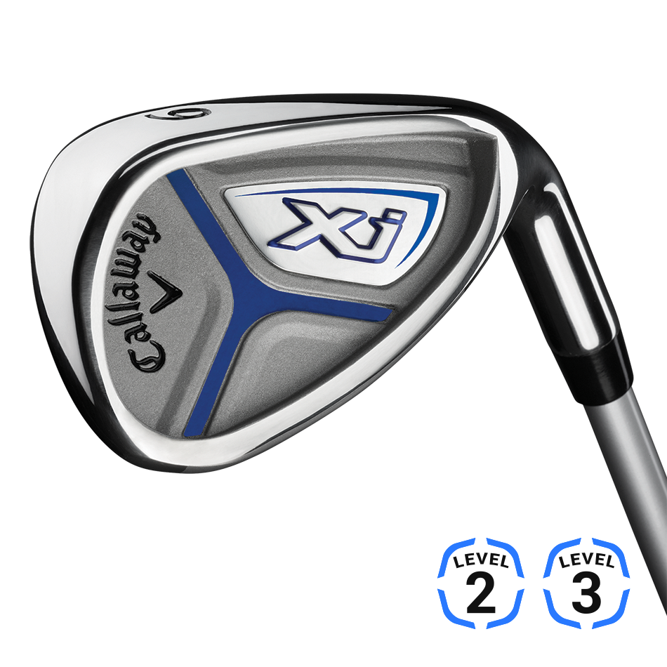 Callaway junior golfset XJ Level 3 graphite shaft