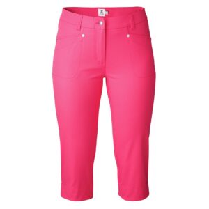 Daily Sports dames golfcapri Lyric rozerood