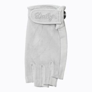 Daily Sports dames golfhandschoen Half Finger wit