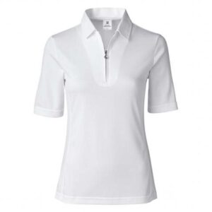 Daily Sports dames golfpolo Macy wit