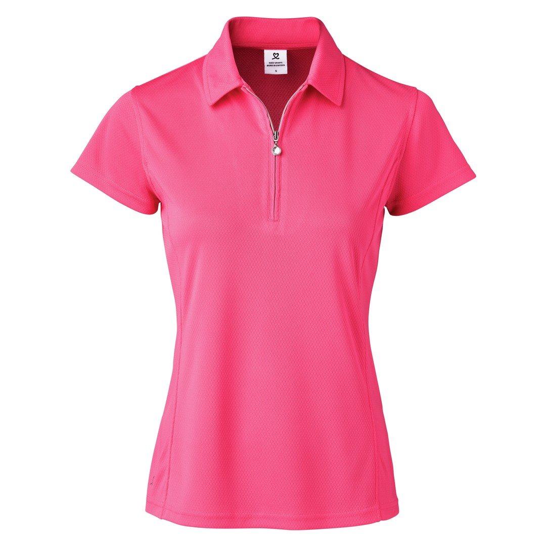 Daily Sports dames golfpolo cap Macy rozerood