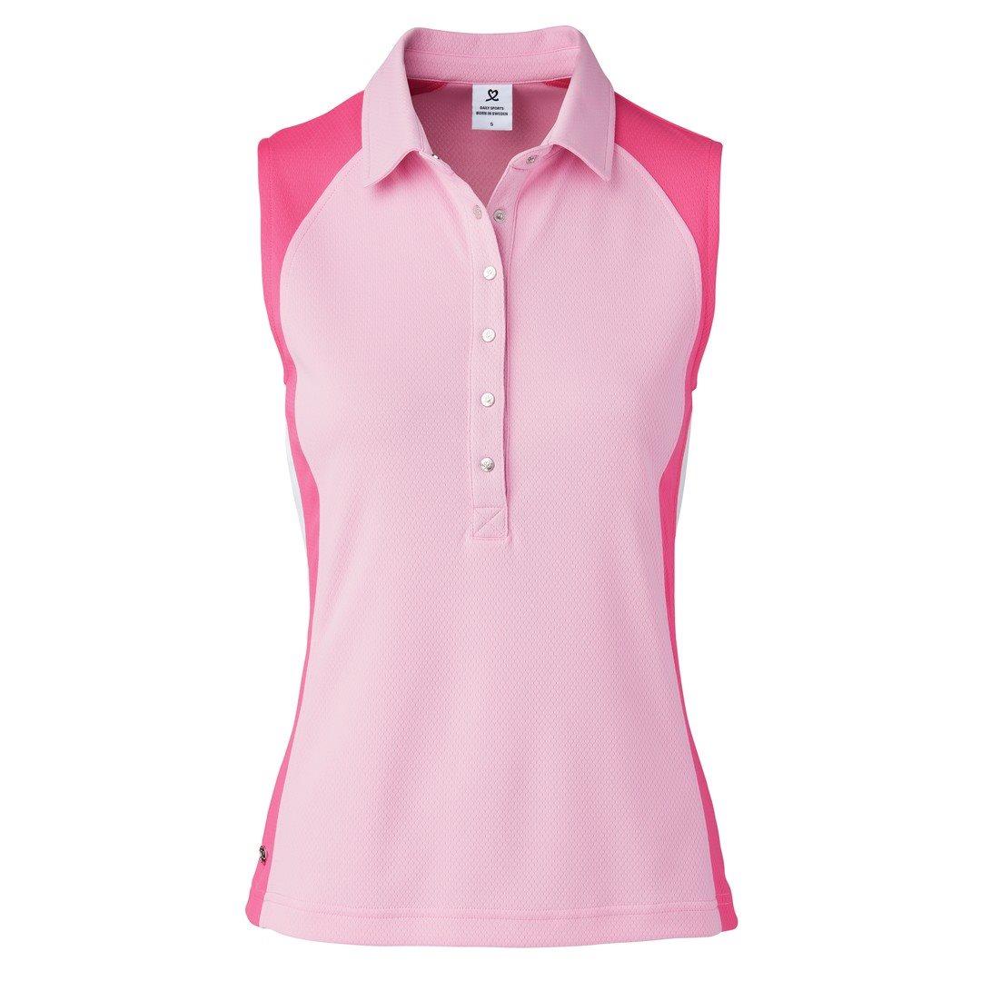 Daily Sports dames golfpolo zonder mouw Zenia roze