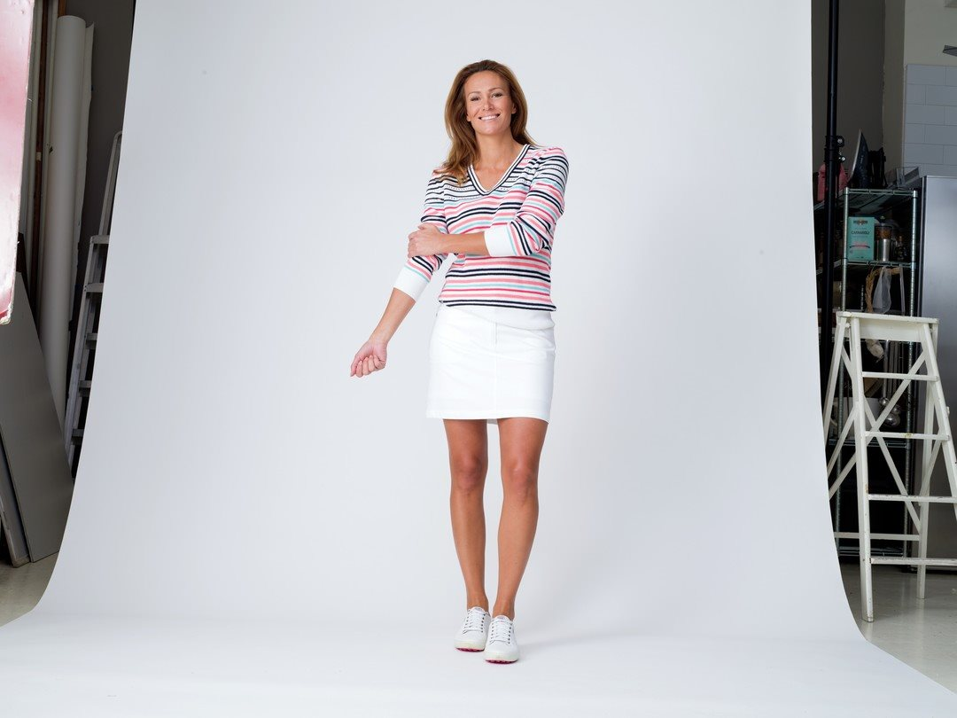 Daily Sports dames golfrokje Lyric wit