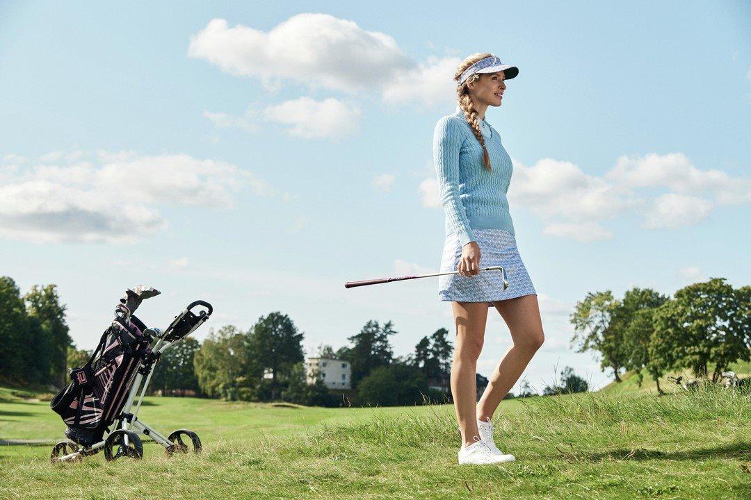 Daily Sports dames golfrokje Sue lichtblauw