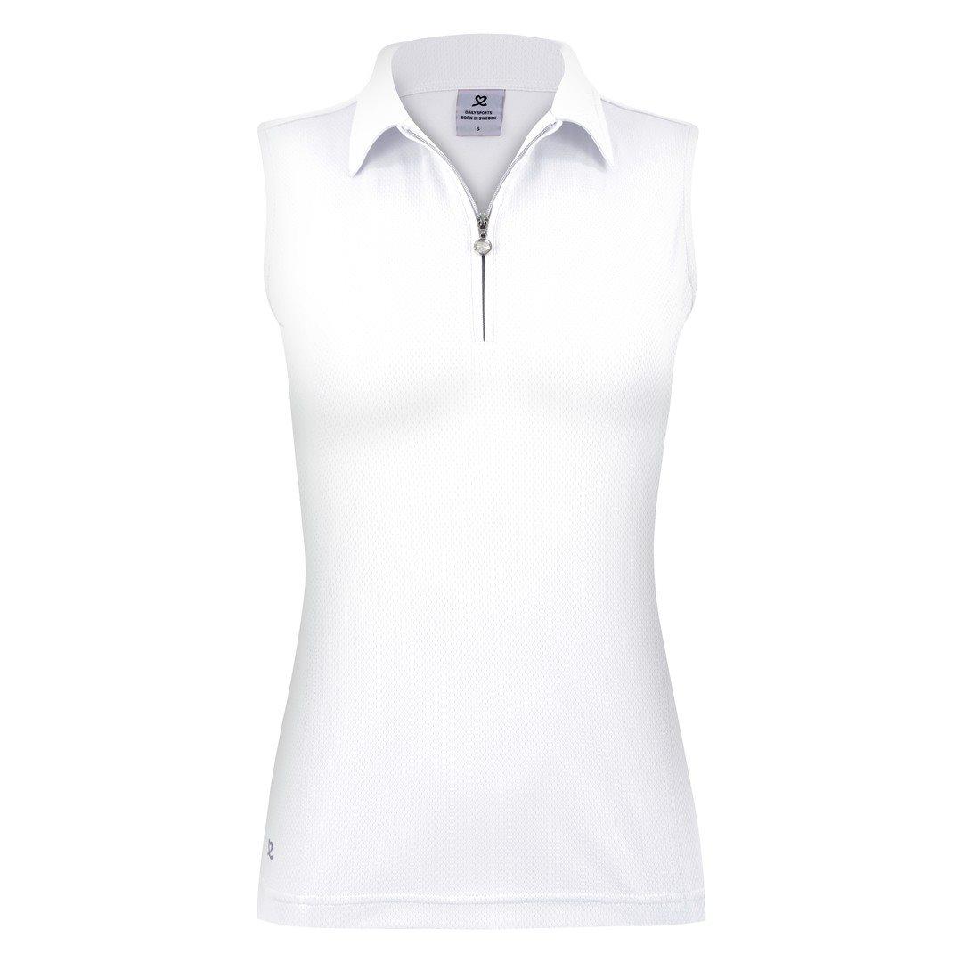 Daily Sports dames golfpolo zonder mouw Macy wit
