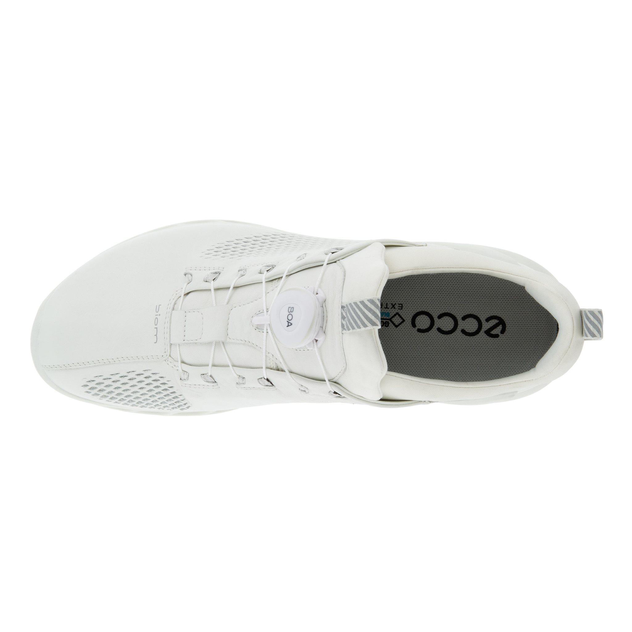Ecco heren golfschoenen Biom Cool Pro BOA wit yakleer