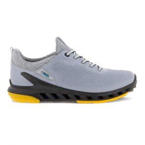 Ecco heren golfschoenen Golf Cool Pro zilvergrijs yakleer