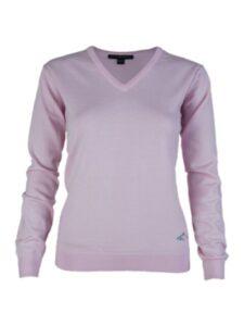 Greg Norman dames golfpullover Merino roze