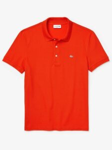 Lacoste heren golfpolo rood