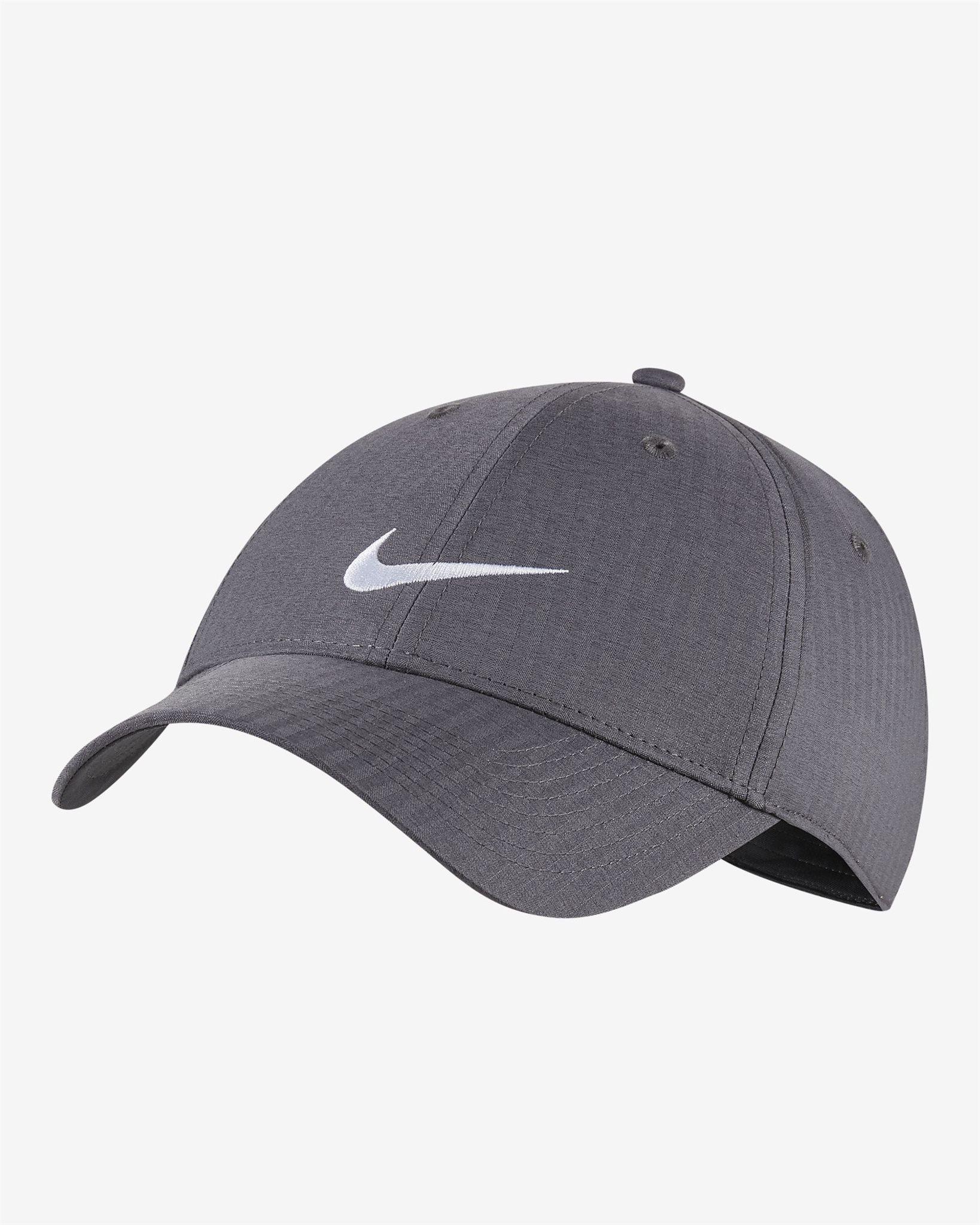 Nike golfpet Legacy91 Tech Cap grijs